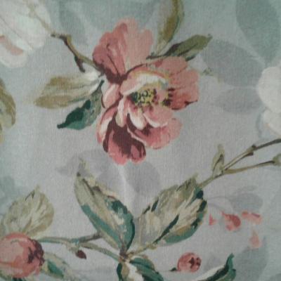Nappe en lin lavé fleuri Sarah