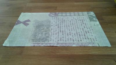 6 sets de table en coton enduit lova