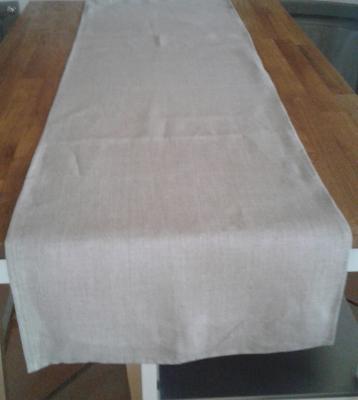 Chemin de table en lin naturel