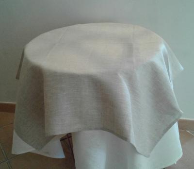 Centre de table en lin linthal