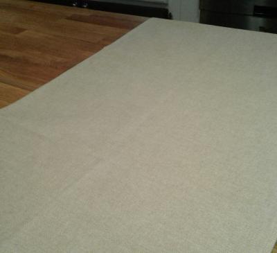 Chemin de table en coton enduit irina