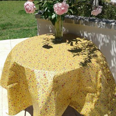 Nappe en coton enduit provençale
