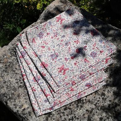 Lot de 6 serviettes arlesiennes