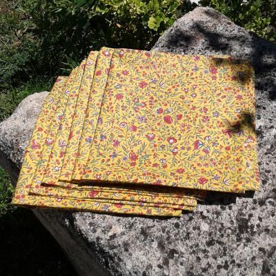 Lot de 6 serviettes provençales