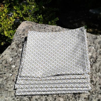 Lot de 6 serviettes  Jena
