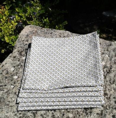 6 serviettes  Jena