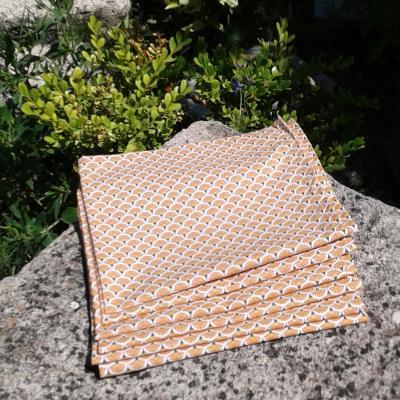 Lot de 6 serviettes Althéa