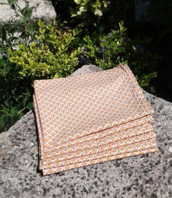 6 serviettes Althéa