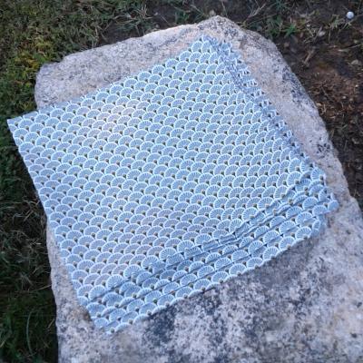 6 serviettes serena