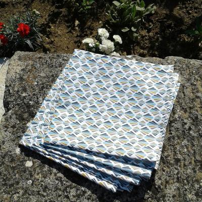Lot de 6 serviettes serena