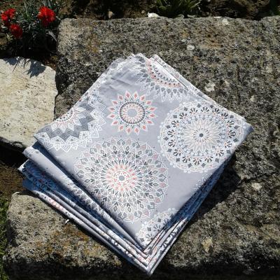 Lot de 6 serviettes mona