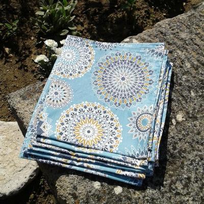 Lot de 6 serviettes cayenne