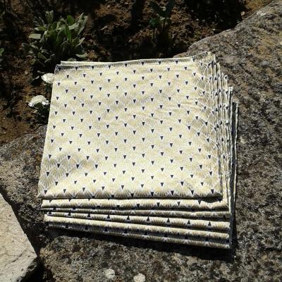 Lot de 6 serviettes hortense