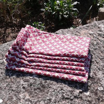 Lot de 6 serviettes fanny