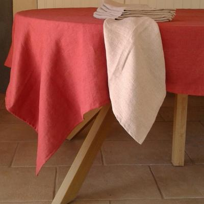Nappe en lin lavé uni Bruschetta