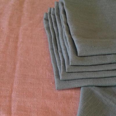 6 Serviettes de table lin lavé Blustone