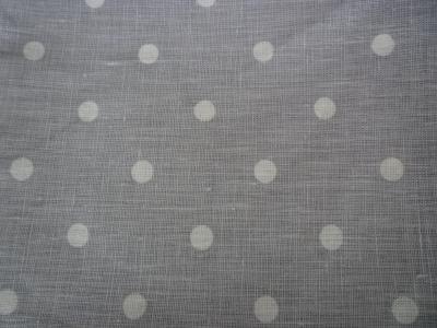 6 serviettes de table en lin à pois Lantana