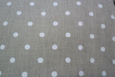 6 serviettes en lin à pois Mirabelle