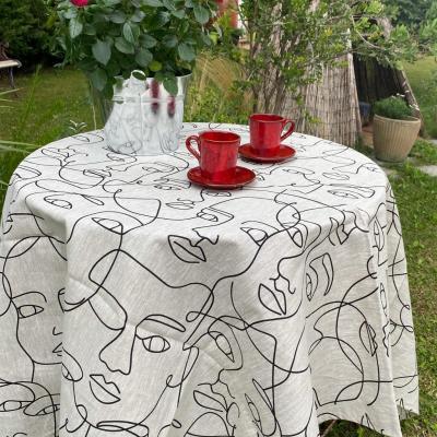 Nappe lin Picasso